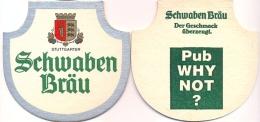 #D112-066 Viltje Schwaben Bräu - Sous-bocks