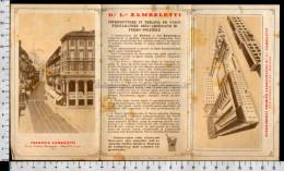U5933 MILANO STABILIMENTI CHIMICO FARMACEUTICI DR. ZAMBELETTI VIA LINNEO FARMACIA (tur) - Publicités
