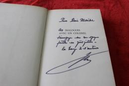 Dialogues Avec Un Colonel D'André Zeller - Dédicacé - 1939-45