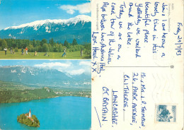 Bled, Slovenia Postcard Posted 1983 Stamp - Slovenia