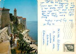 Rab, Croatia Postcard Posted 1968 Stamp - Croatia