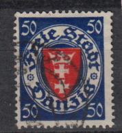 FREIE STADT DANZIG : 184 (0) – Armoirie (1924-33) - Dantzig