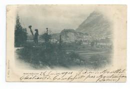 CPA 73Montmélian - Précurseur 1901 Pour Mme Sabaterie à Arlanc 63 - Montmelian