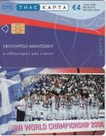 GREECE - National Basketball Team/FIBA World Championship Japan 2006, Tirage 13000, 10/06, Used - Griekenland