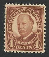 United States, 4 C. 1930, Sc # 685, Mi # 266F, MH - Unused Stamps