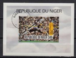 NIGER Bloc 28  : Olympiade De Moscou (0)   (1980) - Niger (1960-...)