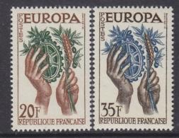 Europa Cept 1957 France 2v ** Mnh (31994B) - Europa-CEPT