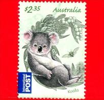 AUSTRALIA - Usato - 2011 - Animali  - Cuccioli - Koala - (Phascolarctos Cinereus) - International - $ 2.35 - 2010-... Elizabeth II