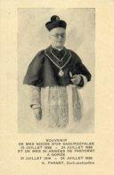 Gorze - Santino Antico SOUVENIR A. PARANT (Curé-archiprêtre) NOCES SACERDOTALES 1888-1938 - OTTIMO M94 - Godsdienst & Esoterisme