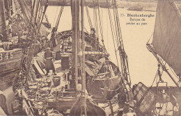 Blankenberghe - Barque De Pêche Au Port (animée, De Ketelaere-Speybrouck, 1923) - Blankenberge