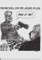 CPM Satirique Caricature RUSSIE ELSTINE Non Circulé échecs Chess - Chess