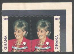 Ghana 1998 Princess Diana Michel 2861-2 MNH Mint Set - Ghana (1957-...)
