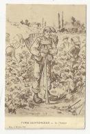 SAINTONGE - ILLUSTRATEUR - TYPES SAINTONGEAIS - VIGNE - LE J'HOTTEUR - HOTTEUR - 1908 - Poitou-Charentes