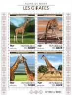 NIGER 2015 - Giraffes. Official Issue