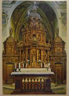 942 - Cartolina Castelvecchio Subequo (AQ) Altare Maggiore Opera Lignea Sec.XVII Viagg. Postcard Karte Carte Postale - Ancient World