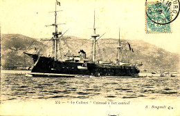 AB 978  /     C P A  -  LE COLBERT  CUIRASSE A FORT CENTRAL - Guerre