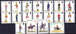 GUERNSEY 1974-76 YT N° 88 à 100, 113 à 115, 130 Et 131 ** - Guernesey