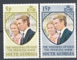FALKLAND ISLAND   SOUTH GEORGIA  1973 The Wedding H:R:H Princess Anne  Mint - Falkland