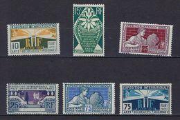 """Yt 210 à 215 """" Exposition Des Arts Décoratifs """" 1924-25 Neuf **"""