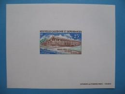 """Epreuve  De Luxe Nouvelle Calédonie """" Nouvel Hotel Des Postes """"  PA 134 - Imperforates, Proofs & Errors"""