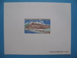 "Epreuve  De Luxe Nouvelle Calédonie "" Nouvel Hotel Des Postes ""  PA 134 - Geschnitten, Drukprobe Und Abarten"