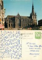 Cathedral, Liege, Belgium Postcard Posted 1965 Stamp - Luik