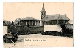 Baulers L'église Et La Cure édit Garnier Charrette  B5551 Bon état - Nivelles