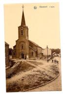 Blanmont L'église Très Bon état Animée Peu Commune Non Circulée édit : Burny Alexandre - Chastre