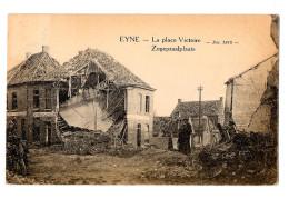 Eyne Eine La Place Victoire Zegepraalplaats Après Guerre Bon état 1922 - Oudenaarde
