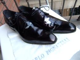 Mocassins CARLO PIGNATELLI Talle 46  Cuir Noir - Zapatos