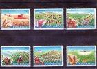 1982 - Mecanisation De L Agriculture Mi 3873/3878 Et Yv  3388/3392 MNH - Ungebraucht