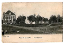 Vorst St Gertrudes Markt Plaats D V D 11370 1913 - Laakdal