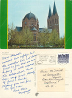 Church, Geldrop, Noord-Brabant, Netherlands Postcard Posted 1994 Stamp - Geldrop