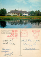 De Vechtstroom Camping,  Oudleusen, Dalfsen, Overjissel, Netherlands Postcard Posted 1971 Stamp - Nederland