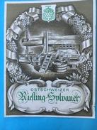 1603 - Suisse Ostschweiz  Riesling Sylvaner - Etiquettes