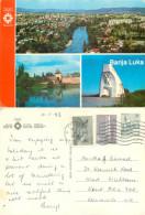 Banja Luka, Bosnia Postcard Posted 1983 Stamp - Bosnia And Herzegovina