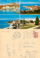 Portoroz, Slovenia Postcard Posted 1968 Stamp - Slovenia
