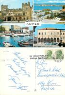 Koper, Slovenia Postcard Posted 1974 Stamp - Slovenia