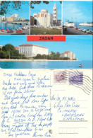 Zadar, Croatia Postcard Posted 1986 Stamp - Croatia