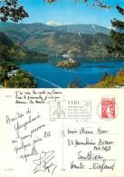 Bled, Slovenia Postcard Posted 1980 Stamp - Slovenia