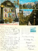 Russian Chapel, Vrsic Pass, Slovenia Postcard Posted 1987 Stamp - Slovenia