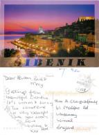 Sibenik, Croatia Postcard Posted 2007 No Stamp + Postage Due Markings - Croatia