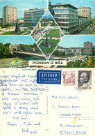 Nis, Serbia Postcard Posted 1972 Stamp - Serbia