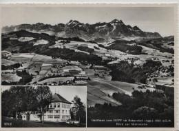Gasthaus Zum Gupf Ob Rehetobel (App.) 1081 M.ü.M. - Blich Zur Säntiskette - Foto Gross 9713 - AR Appenzell Rhodes-Extérieures