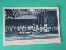 POLYNESIE FRANCAISE-TAHITI-ECOLE DES JEUNES FILLES DE PAPEETE-ANIMEE ED SOCIETE DES MISSIONS EVANGELIQUES - Polynésie Française