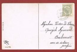 Bourg Léopold Beverloo Oblitération Sur Carte Postale 12 Avril 1909 - Postmark Collection