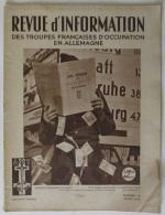 1949 N° 42 Revue D´Information Des Troupes Françaises D´occupation En Allemagne - Revues & Journaux