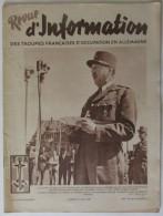 1949 N° 47 Revue D´Information Des Troupes Françaises D´occupation En Allemagne - Revues & Journaux
