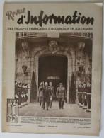 1949 N° 48 Revue D´Information Des Troupes Françaises D´occupation En Allemagne - Revues & Journaux