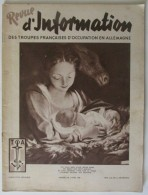 1949 N° 50 Revue D´Information Des Troupes Françaises D´occupation En Allemagne - Revues & Journaux